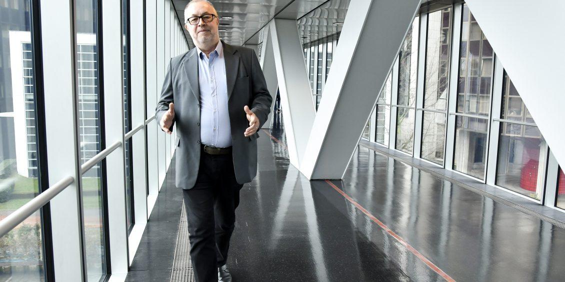 Michael DETJEN in the European Parliament in Strasbourg